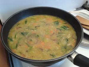 Hafer-Gemüse-Suppe
